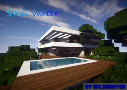 Still Water - Minimalist Modern Mansion Minecraft Map & Project