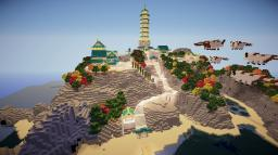 Air Temple Island Minecraft Project