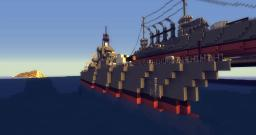 Modern Ship Minecraft Map & Project