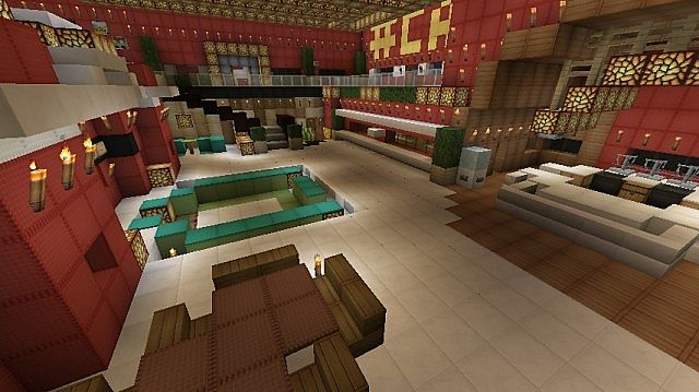 Big Brother Canada House Minecraft Project