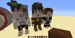 Mindcrack Inspired Statues Minecraft Project