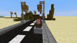 Controllable Cars in Minecraft (1.8) Minecraft Map & Project