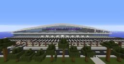 Cancun Internacional Airport Minecraft Map & Project