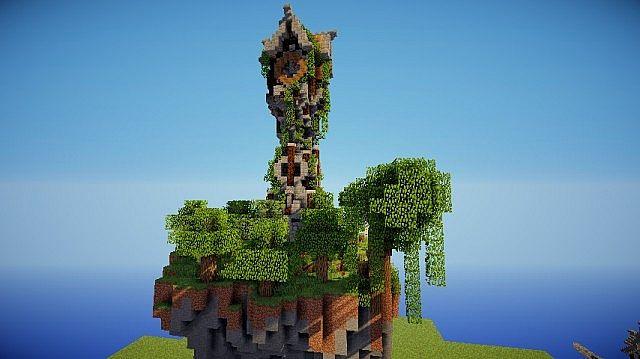 Medieval Clock Tower Minecraft Map