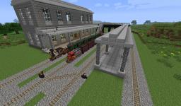 Railroad System with Traincraft Minecraft