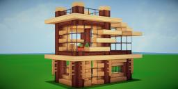Modern Eco Village | Home 16 Minecraft Map & Project