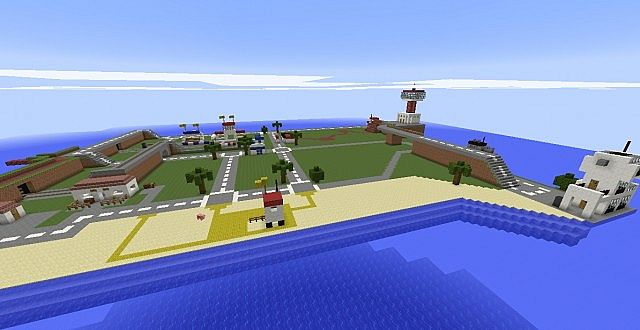 Lego Island Minecraft Project