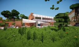 -Forest Frost- Modern minimalistic home Minecraft Project