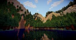 [MAP 1.7.2] Lacs & Cascades Minecraft Map & Project