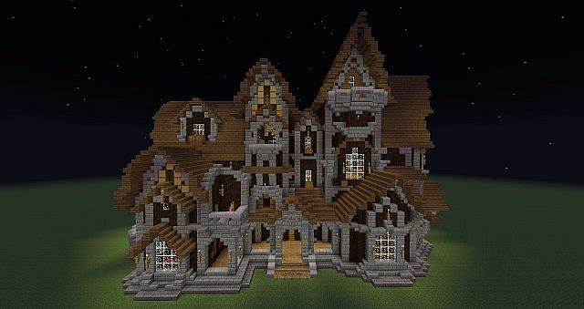 Building Houses On Minecraft Games