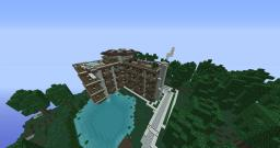 Hillside manor 1.7.2 Minecraft Map & Project