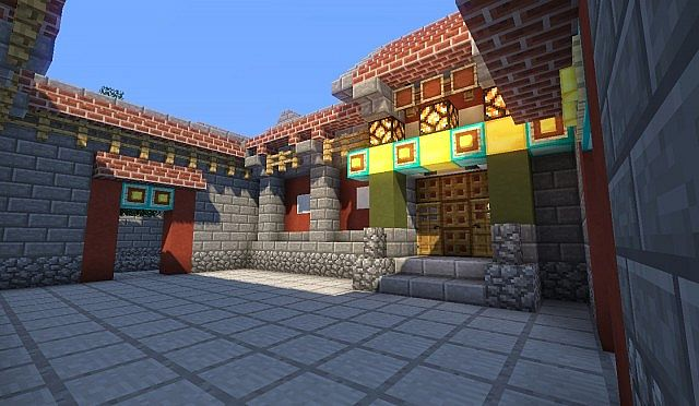 Siheyuan Chinese House Minecraft Project