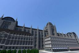 Late Medieval City Minecraft Map & Project