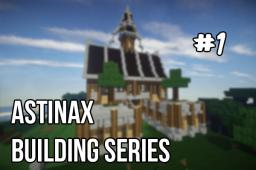 How to build a medieval town hall easily ! (part 1) [Guide] Minecraft Blog Post