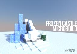 Frozen Castle MicroBuild 1:200 Minecraft Project