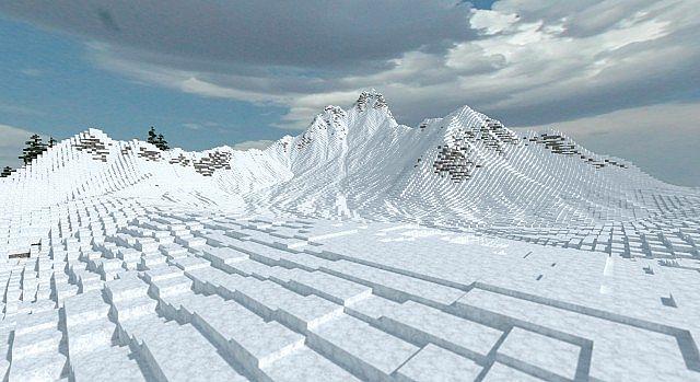 Frozen Peaks Map