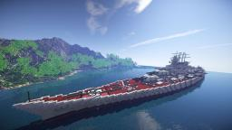 H44 Battleship Cinematic Minecraft Map & Project