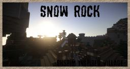Snow Rock -Skyrim Inspired Village- Minecraft Project