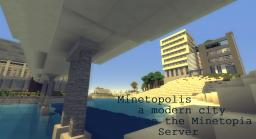 Modern World Minetopolis with many citys [MEGA BUILD] [Download now available] Minecraft