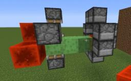 (rapid fire)Piston Rotating device 14w19a (up) Minecraft Map & Project