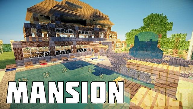 Mansion Mega Planet Minecraft Project