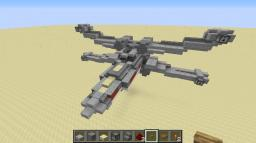 My X-Wing *Acually fires!!!*(starwars) Minecraft Map & Project