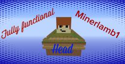 Fully Functional Minerlamb1 Head! [DOWNLOAD] Minecraft Map & Project