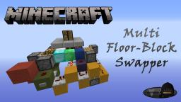 Minecraft: Multi Floor-Block Swapper Minecraft Map & Project