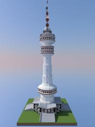 TV Tower Minecraft Project