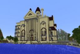 Gracey Manor (Haunted Mansion) Minecraft Map & Project