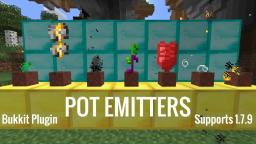PotEmitter | Bukkit Plugin | 16 Effects all craftable | Works on 1.7.9