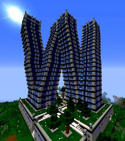 Modern Genesis Towers Minecraft Project