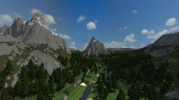 -Ragnarfjördður- [Custom Terrain] Minecraft