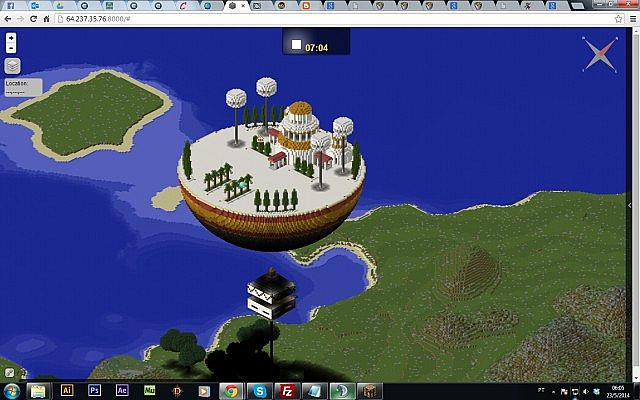 Dragon ball z world map minecraft project kami lookout publicscrutiny Image collections