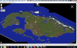 Dragon Ball Z World Map Minecraft Map & Project