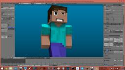 Minecraft Blender Rigs! Minecraft