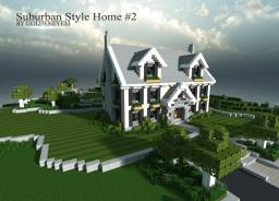 ~Suburban Home~ | Full Furnished | by Goldeneye33 Minecraft Project