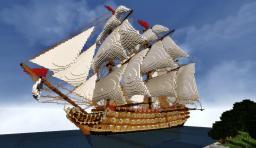High detail warship - L'Été Vainqueur