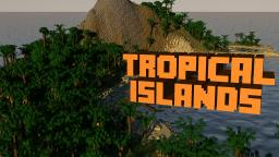 Tropical Islands [With Ores and Caves!] Minecraft Map & Project