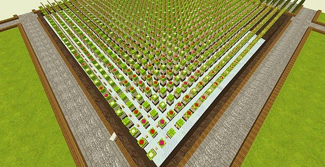 how to make a big cactus farm in minecraft