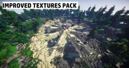 Resource Pack : Default Improved Textures Pack - Download (Updated 16x16!) Minecraft