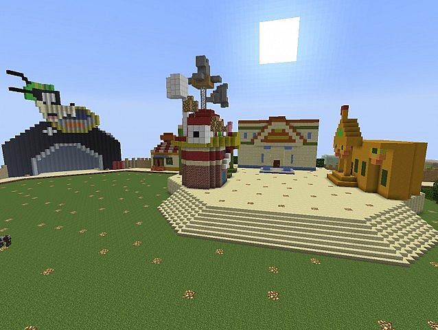 Toontown Online In Minecraft Minecraft Project