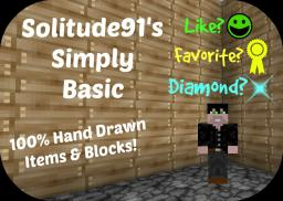 Simply Basic (W.I.P) Minecraft Texture Pack