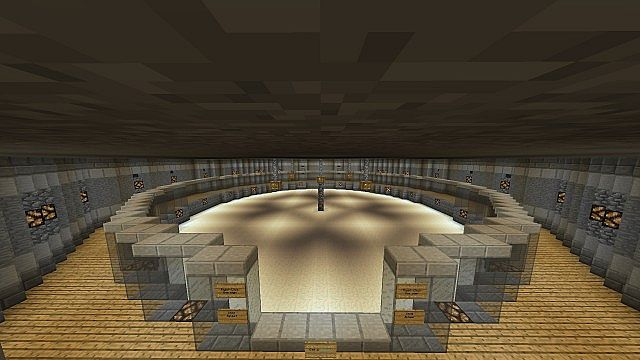 The spleef arena. warp spleef