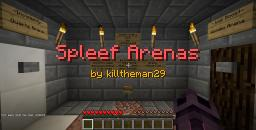 Spleef Arenas with Custom Effects v2.0 [1.8+] [Mini-Game] Minecraft Map & Project