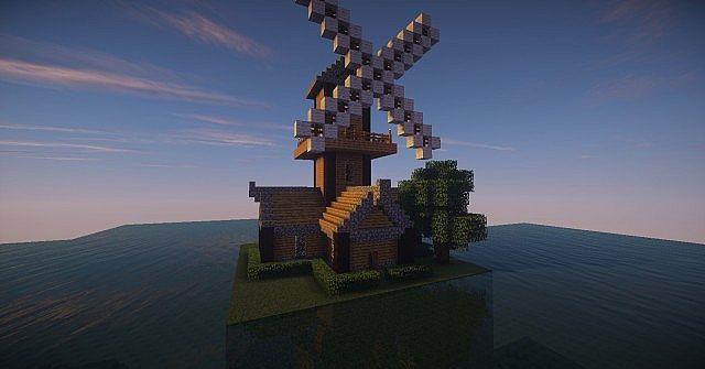 [Medieval] Windmill (Schematic) Minecraft Project