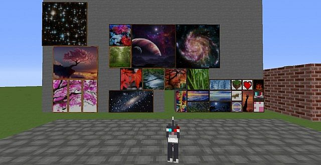 Minecraft cat paintings texture pack