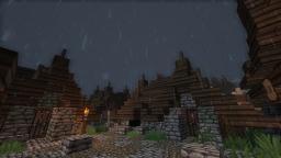 Medieval fort (Whiterun inspired) Minecraft Project