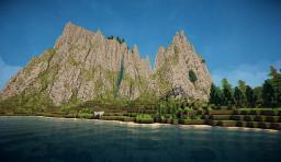Aoria, Fantasy map [Worldpainter] Minecraft