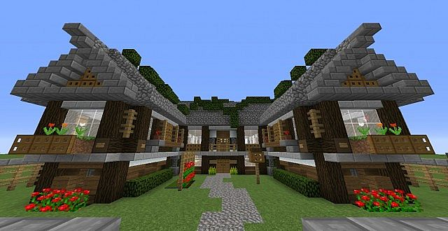 medium sized medieval style house minecraft project